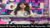 Girls Republic 9th September 2015
