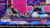 Girls Republic 16th September 2015