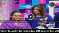Girls Republic 17th September 2015