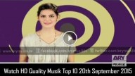 Musik Top 10 20th September 2015