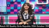 Girls Republic 20th October 2015