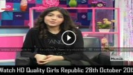 Girls Republic 28th October 2015