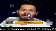 Video On Trial 12th October 2015