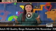Bingo Reloaded 7th November 2015
