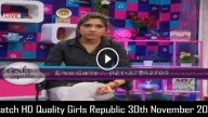 Girls Republic 30th November 2015