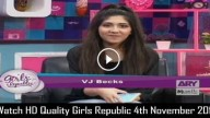 Girls Republic 4th November 2015
