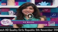 Girls Republic 9th November 2015