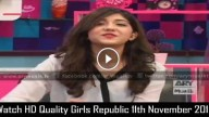 Girls Republic 11th November 2015
