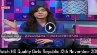 Girls Republic 12th November 2015