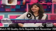 Girls Republic 16th November 2015