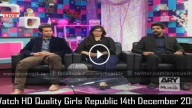 Girls Republic 14th December 2015