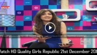 Girls Republic 21st December 2015