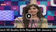 Girls Republic 4th January 2016