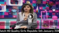Girls Republic 5th January 2016