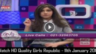 Girls Republic – 11th January 2016