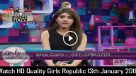 Girls Republic 13th January 2016