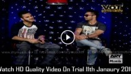 Video On Trial 11th Janaury 2016
