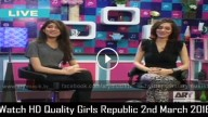 Girls Republic 2nd March 2016