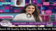 Girls Republic 16th March 2016